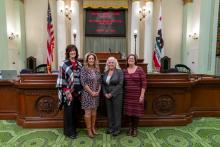 Assemblymember Waldron Welcomes the CA School Nutrition Association to Sacramento