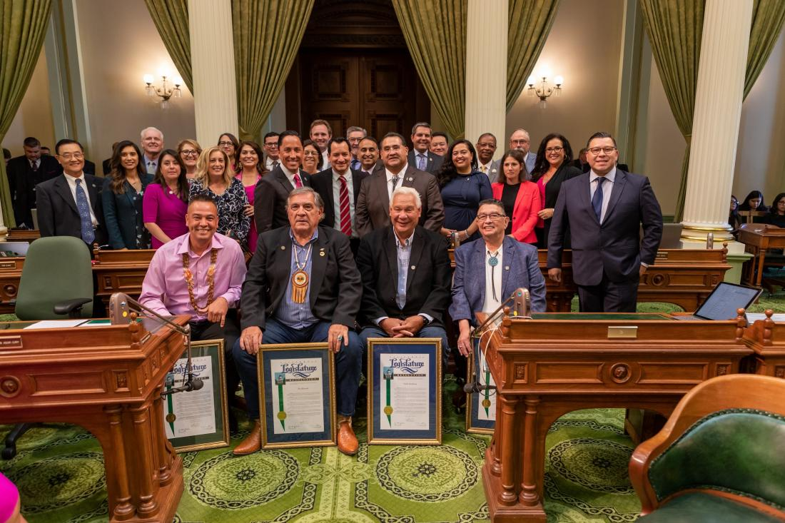 Assemblymember Waldron Joins With Her Colleagues in the Assembly to Recognize Native American Day